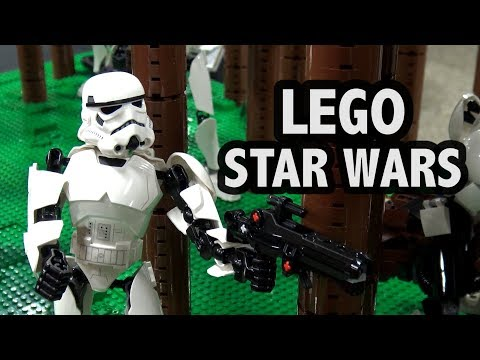 LEGO Star Wars Endor Battle with Bionicle | Philly Brick Fest 2018
