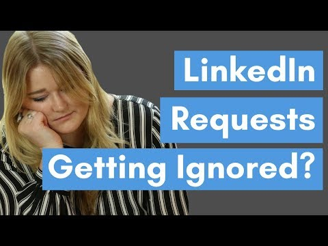 3 Reasons Why People Ignore Your LinkedIn Request