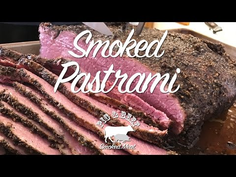 Pastrami - Smoked on a Traeger Wood Pellet Grill