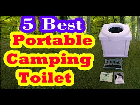 Best Portable Camping Toilets to Buy in 2017