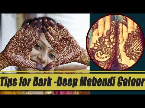 Tips for Dark Mehendi colour on your Hands | Tips for Dark Heena | Boldsky