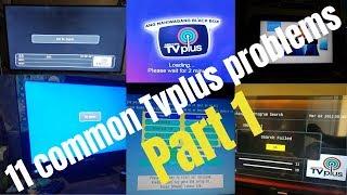Tvplus Problem? (11 common Tvplus problems) Part 1