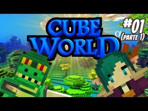 Ep. 1 - Monark e Leon no Cube World! (Parte 01)