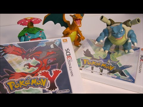 Unboxing: Pokemon X / Y  game