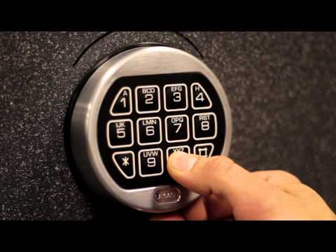 Change Combination on digital electronic LG Safe Lock
