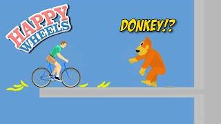 DONKEY B#TCH ASS!! [HAPPY WHEELS] [MADNESS!]