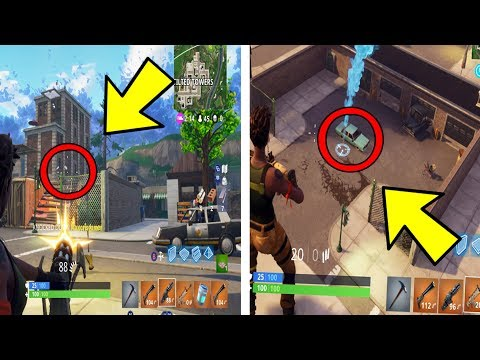 i went to tilted towers with all gold weapons and this happened.. (Fortnite Battle Royale)
