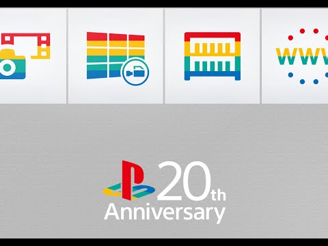Playstation 20th Anniversary Theme for PS4