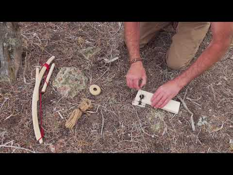Bow Drill Kit Demo! You Too Can Make Fire Like A Cave Man!