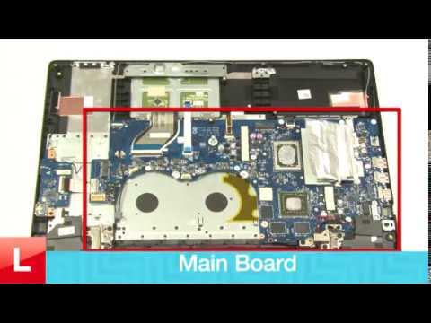 Lenovo ideapad Y700 Mainboard REMOVAL