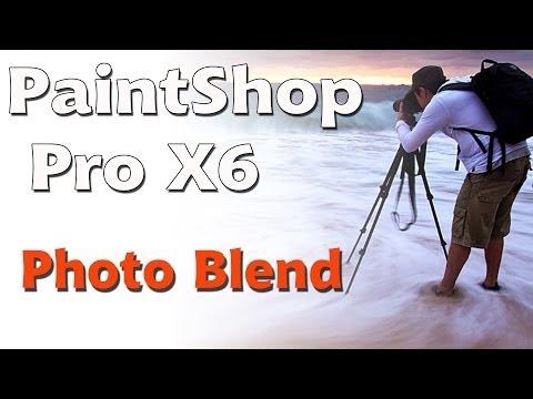 Corel PaintShop Pro x6, photo blend