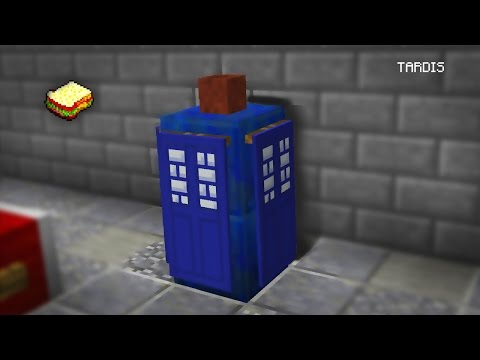 Minecraft | How to make a Working Tardis