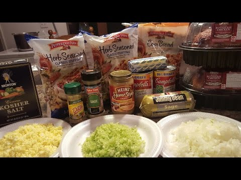 Tammy's Chicken & Sausage Dressing: Soul Food