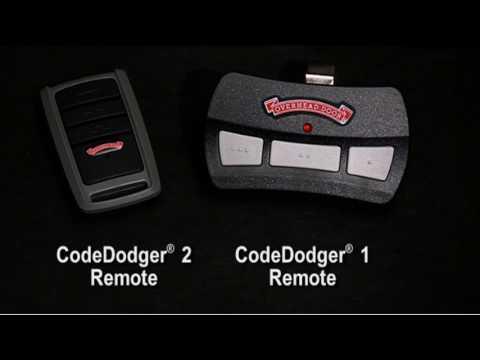 Programming Codedodger Remotes Video