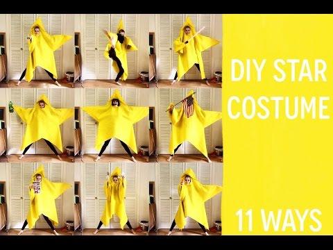 DIY star costume | 11 ways!