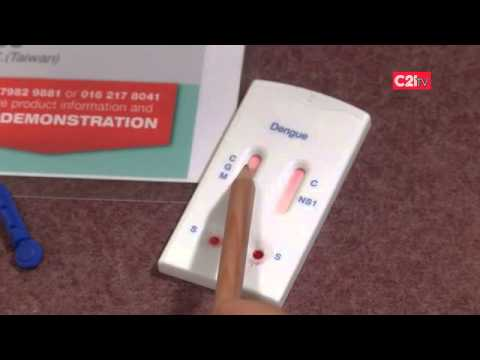 AsiaGen NS-1 & IgM/IgG Combo Dengue Test Kit Demonstration