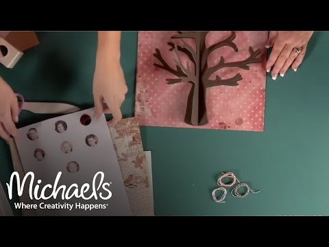 Family Tree Shadowbox | All About Framing | Michaels