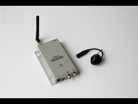 Wireless camera with receiver kit  - SPY.EU