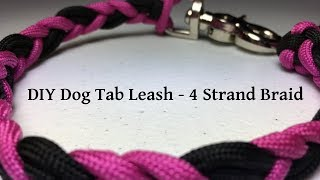 DIY Hands Free Paracord Dog Leash Cyclone Knot,2MDYX - VideosTube