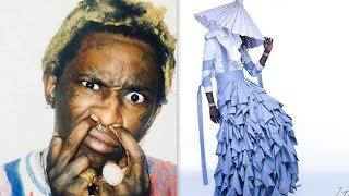Young Thug Wears a Dress on the Cover of