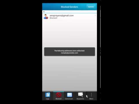Auto Block v2.7 for BlackBerry 10