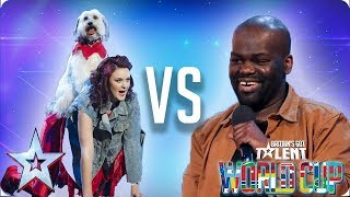 KNOCKOUT MATCH: Ashleigh & Pudsey vs Daliso Chaponda | Britain