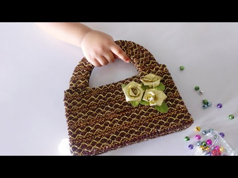 How to make Stylish lace Handbag from Waste Box | No Sew | DIY Handbag | Best out of waste