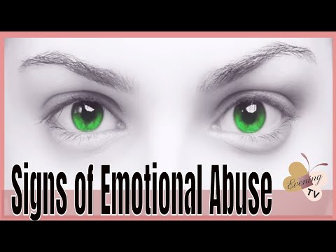 7 Signs of Emotional Abuse,  Run If You See Any of Them!!  🙀  🏃