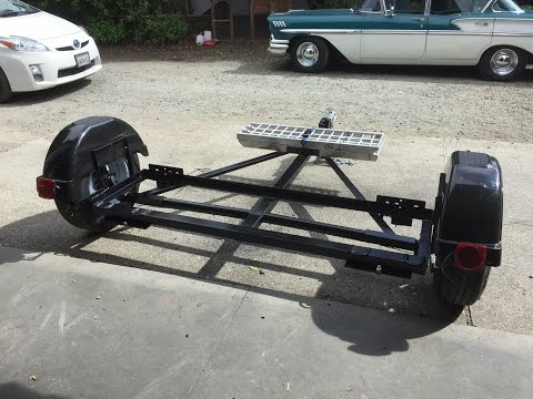 Homemade RV tow Dolly