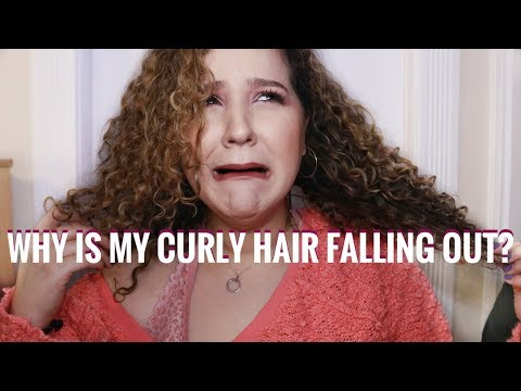 Why Does My Curly Hair Fall Out? STOP SHEDDING & Hair Loss in your Natural Curly Hair