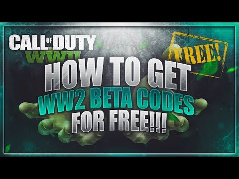 How to get World at War 2 Beta Codes Free! (Working 2017!!)