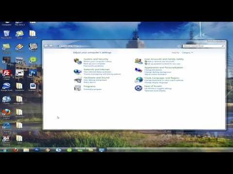 View All Control Panel Items In Windows 7