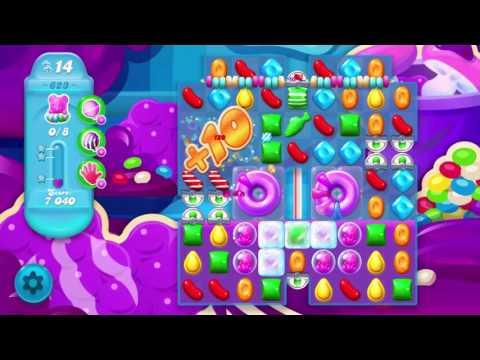 Candy Crush Soda Saga Level 623       No Boosters       1-Star ⭐