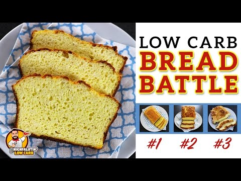 The BEST Low Carb Bread Recipe - EPIC BREAD BATTLE - Testing 3 Keto Bread Recipes