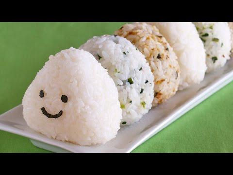 How to Make Onigiri (Japanese Rice Balls Recipe) | OCHIKERON | Create Eat Happy :)