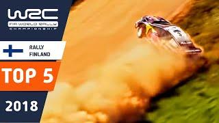 WRC - Neste Rally Finland 2018: TOP 5 Highlights