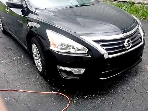 Duplicolor paint job (perfect match spray can) 2013 Nissan Altima