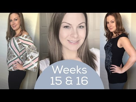Weeks 15 & 16 | Naturally Pregnant After Infertility
