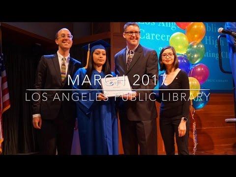 Los Angeles Public Library March 2017 Recap