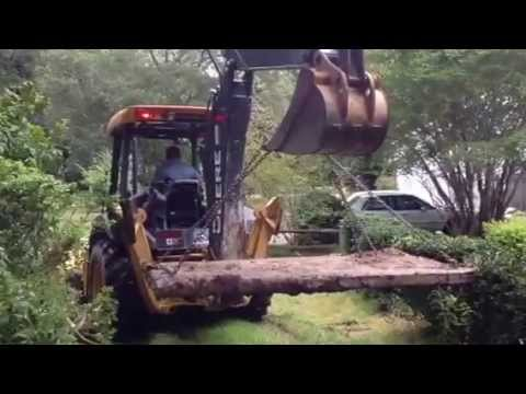 HOW TO Remove a 30 year old septic tank lid     ASAP PLUMBING AND SEPTIC SERVICES   904-346-1266