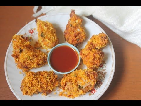 Indian Style Baked Chicken Nuggets