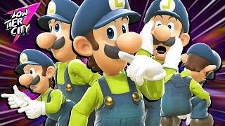 The true ELEGANCE of Luigi!! Low Tier City 7 Top 64 Highlights