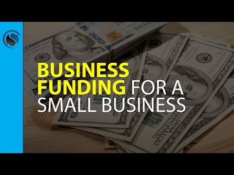 Business Funding for a Small Business