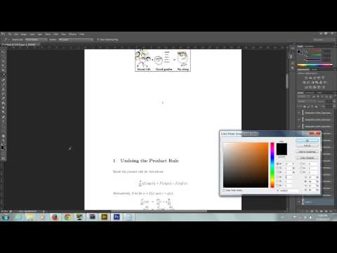 Converting PDF to JPEG + Relayering in Photoshop