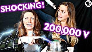 DIY Lightning Experiment! Make a SHOCKING Capacitor