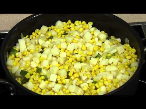 Potato and Corn Skillet