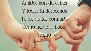 Download Amigos con derechos - Reik, Maluma (LETRA)