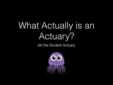 What Actually is an Actuary
