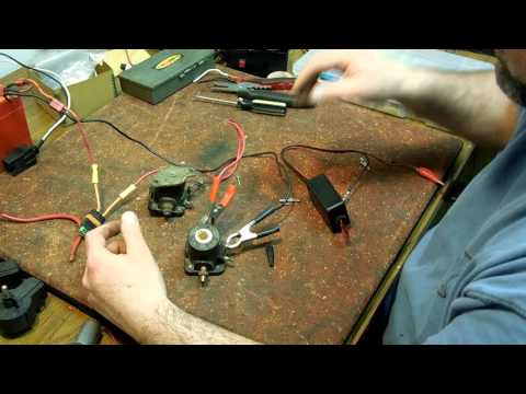 How to test a marine solenoid for a starter and a choke. fix your outboard