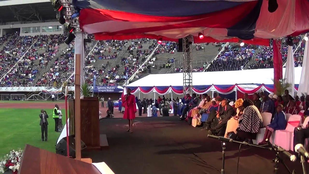 Chelsea Chipendo preaching at #Ebenezer Convention 2014